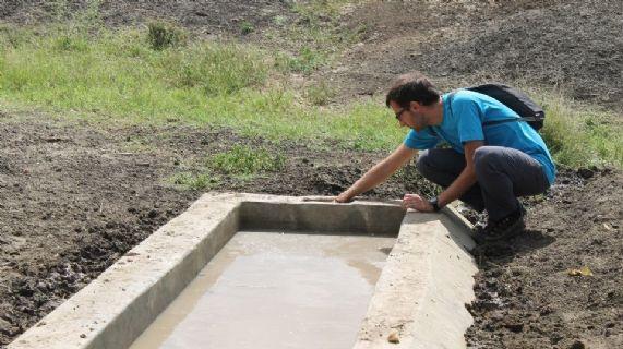 Costruzione di infrastrutture di raccolta d'acqua
